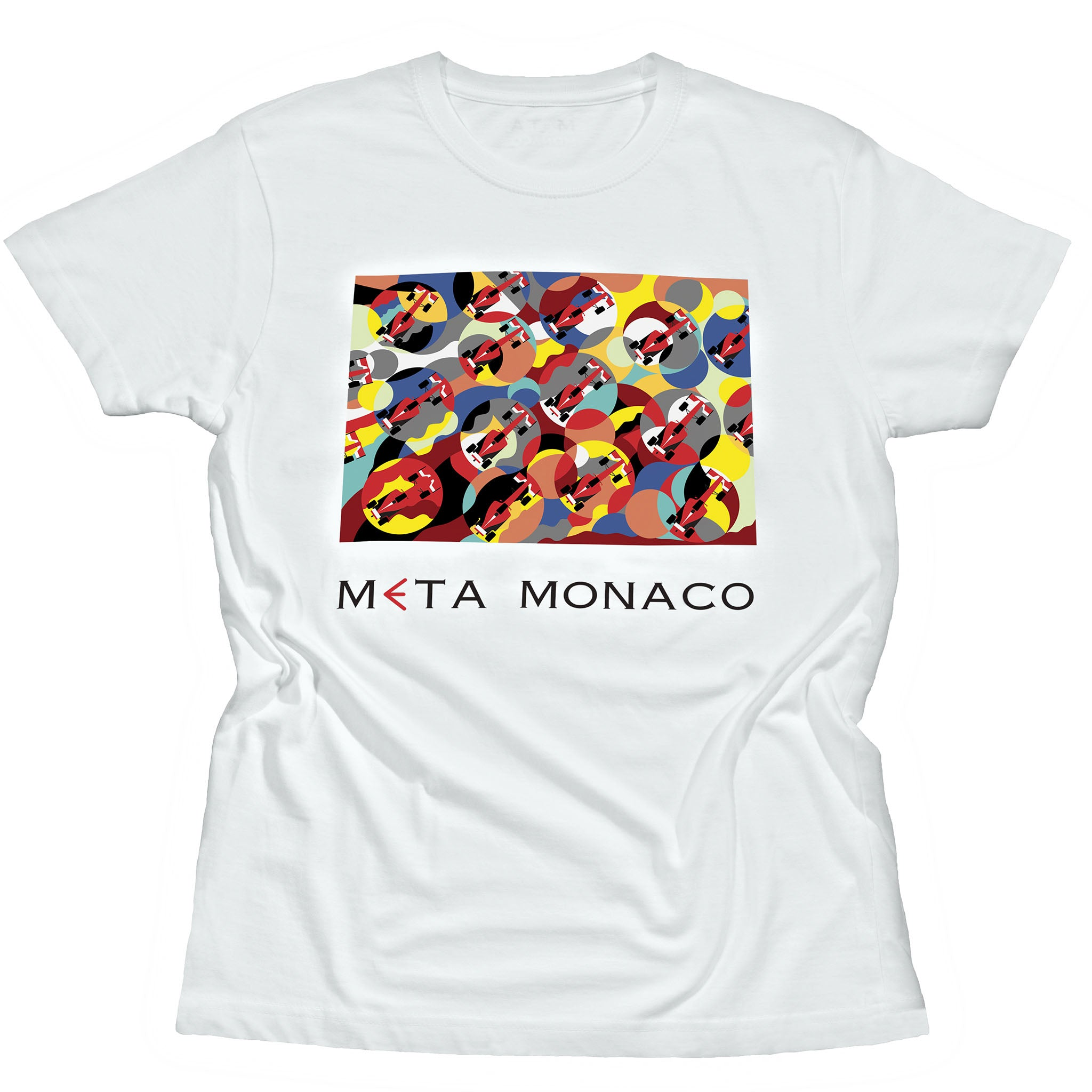 F1 Grand Prix Race Art T-Shirt White