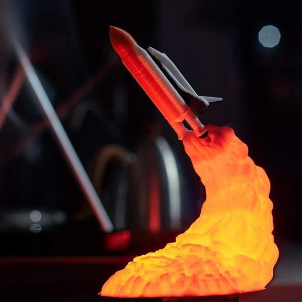 Space Shuttle 3D Lamp