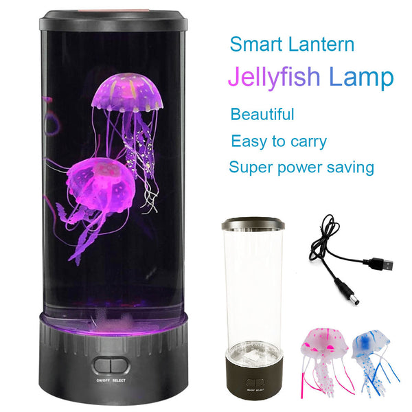 Blooming Jellyfish Lamp For Calmness