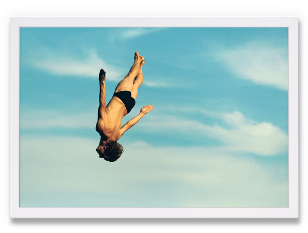 CLIFF DIVE by Anthony Blasko
