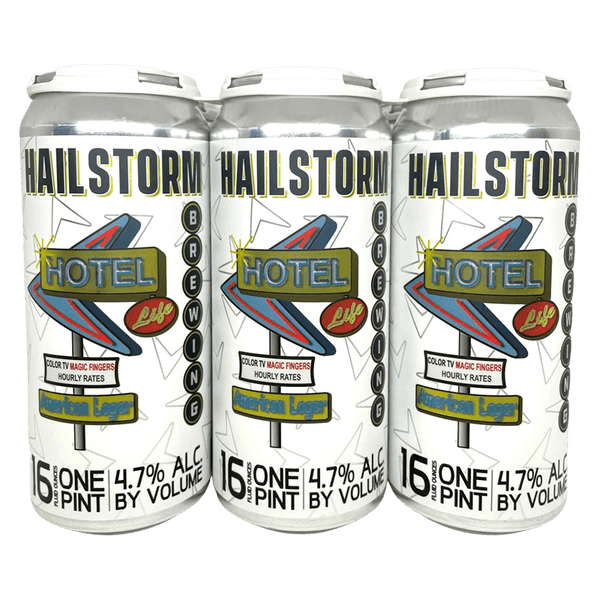 Hailstorm Hotel Life 6-pack