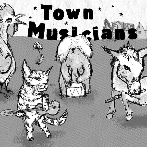 Off Color Town Musicians 4-pack
