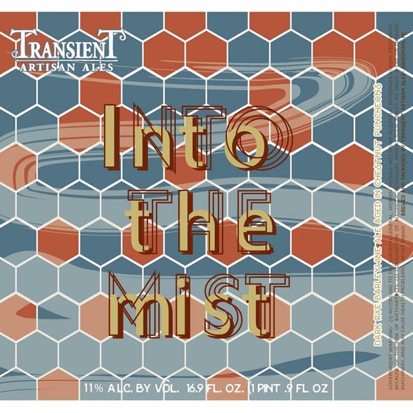 Transient Artisan Ales Into the Mist 500ml
