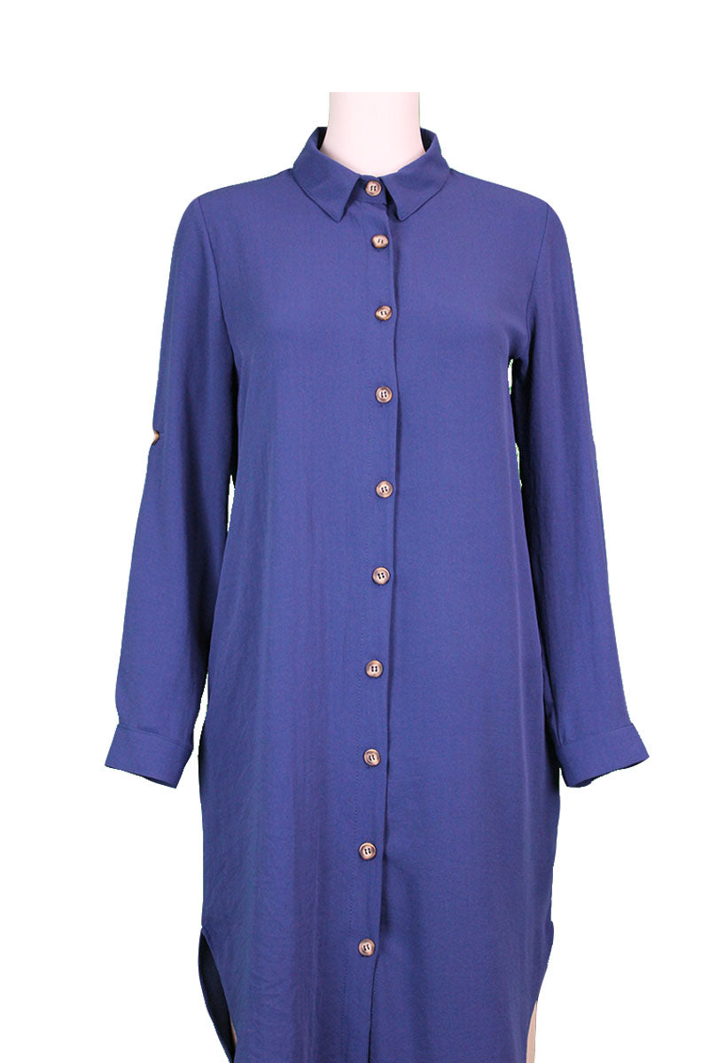 Tunic Shirt - Blue