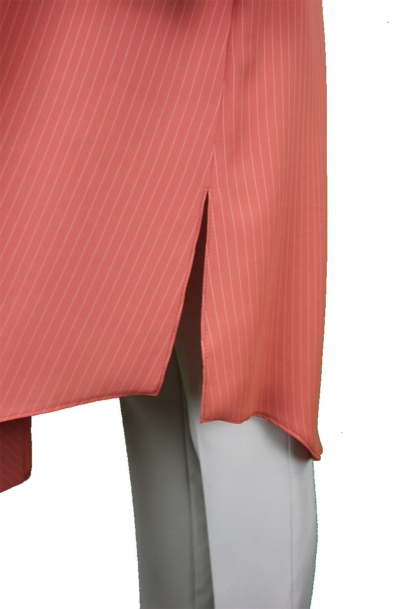 Crepe Tunic - Red