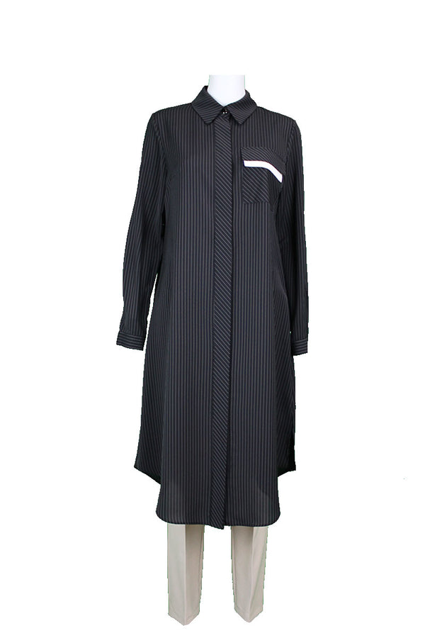 Crepe Tunic - Black