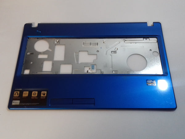 lenovo Idespad G580 Laptop palmrest Keyboard Surround Blue