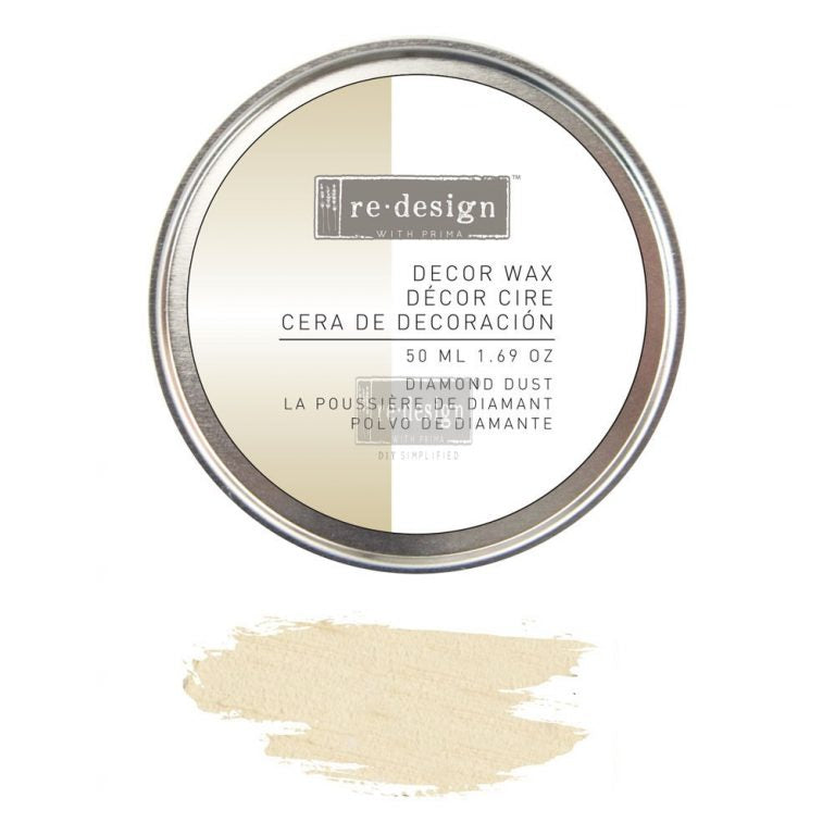 Re.Design Decor Wax 5.0ML 1.69OZ - Diamond Dust