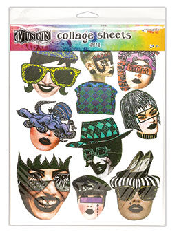 Dylusions Collage Sheets Set 1