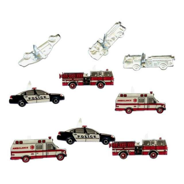 Response Vehicles  Brads 12  pieces