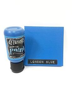 dylusions paints  London Blue