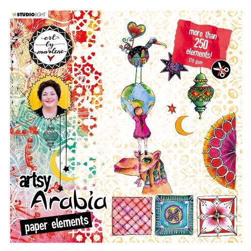 Art by Marlene  Artsy Arabia Paper  Elements Set 1