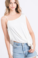 Load image into Gallery viewer, Solid Knit Top Is Fearing A Round Neckline And Side Hi-low