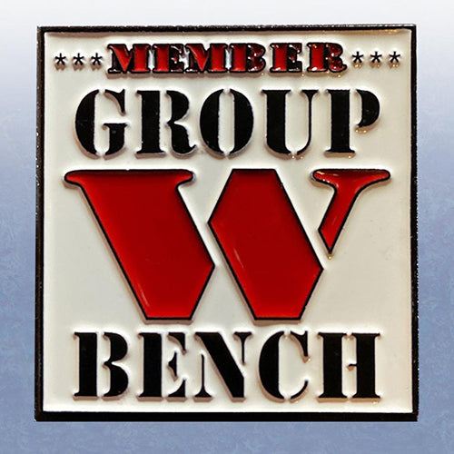 Group W Bench Member pins