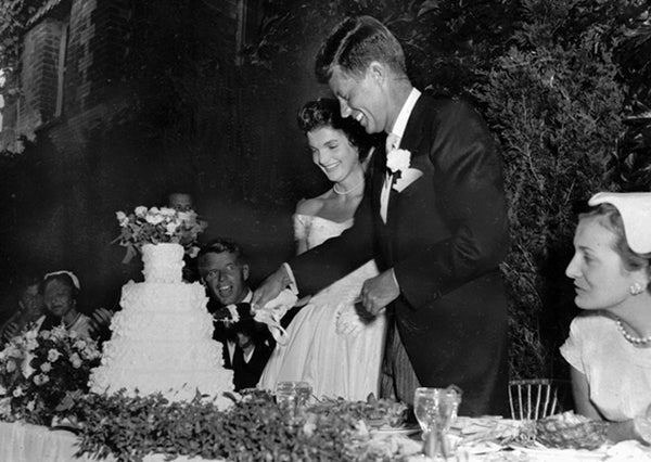 JFK and Jacqueline Bouvier Wedding