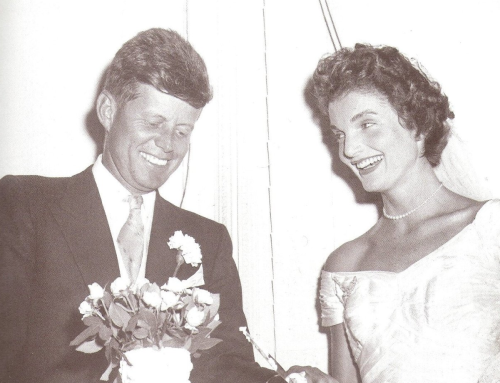 JFK and Jacqueline Wedding