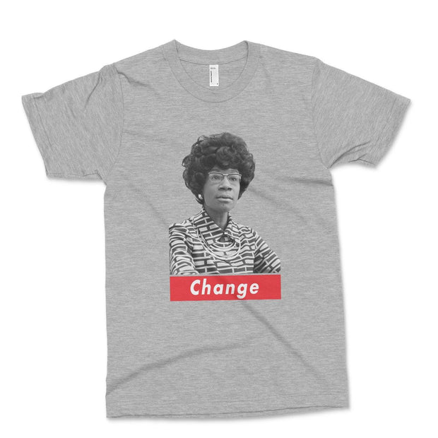 Change T-Shirt Old News Co. Heather Grey XS
