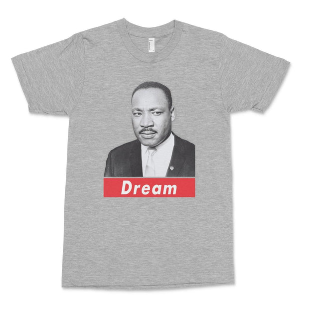 Dream T-Shirt Old News Co. Heather Grey XS
