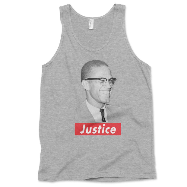 Justice tank top Tank Top Old News Co. Heather Grey XS