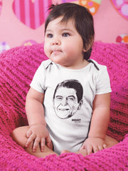Morning Again in American Baby Onesie Baby Onesie Reelect Reagan
