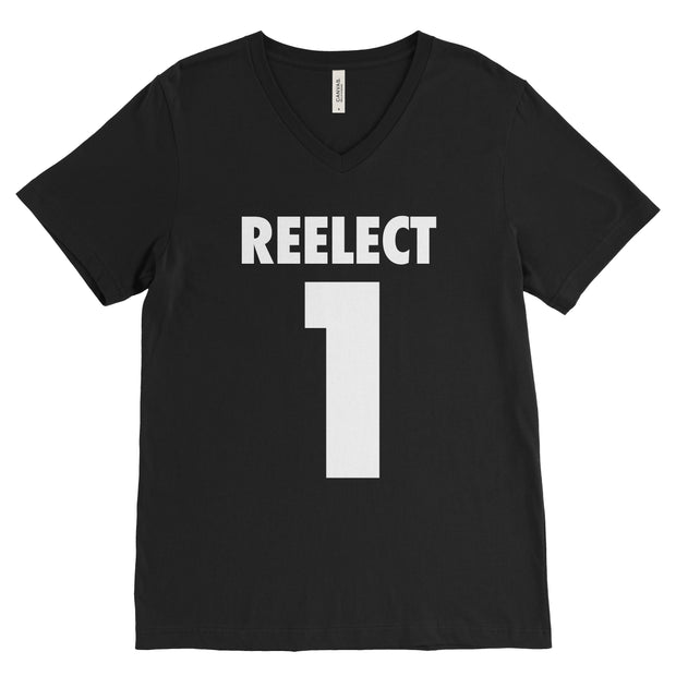 Reelect 1 v-neck V-neck Reelect George Black XS