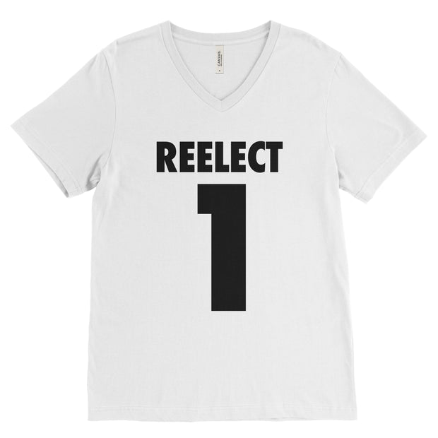 Reelect 1 v-neck V-neck Reelect George White XS