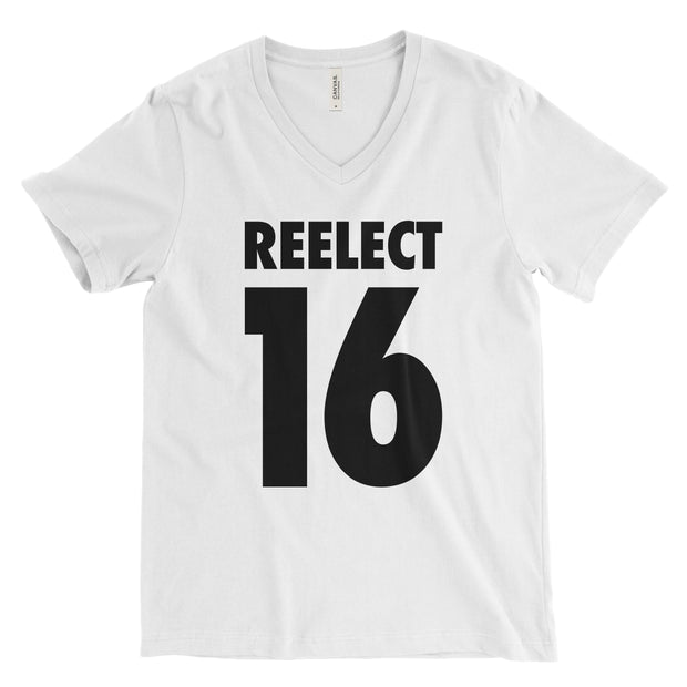 Reelect 16 v-neck V-neck Reelect Abe White XS