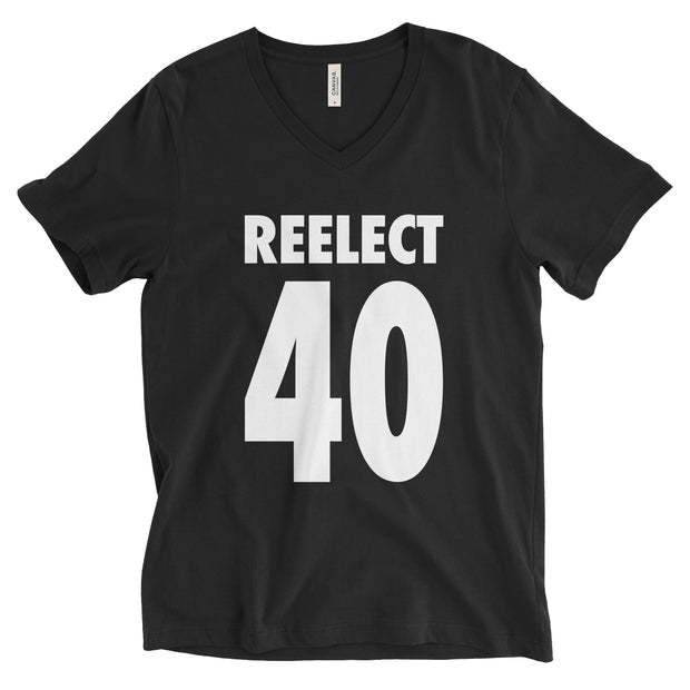 Reelect 40 v-neck V-neck Reelect Reagan Black XS