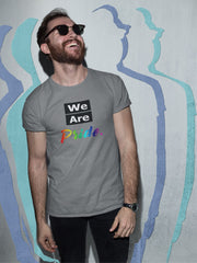 We Are Pride track tee T-Shirt Old News Co.