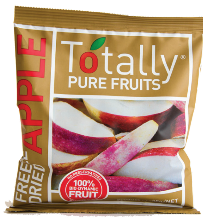 Totally Pure Fruits Freeze Dried Apples (25g) (box of 12)