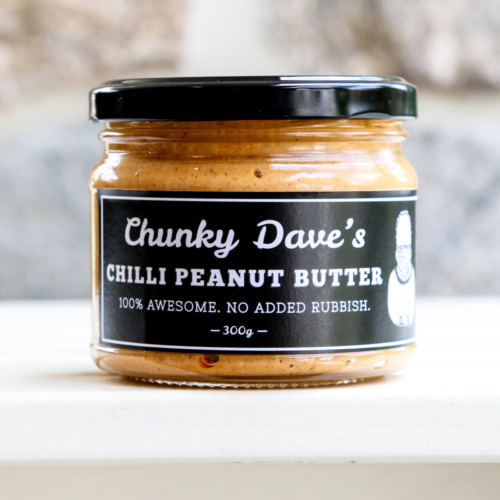 Chunky Dave's Chilli Peanut Butter (300g) (box of 6)