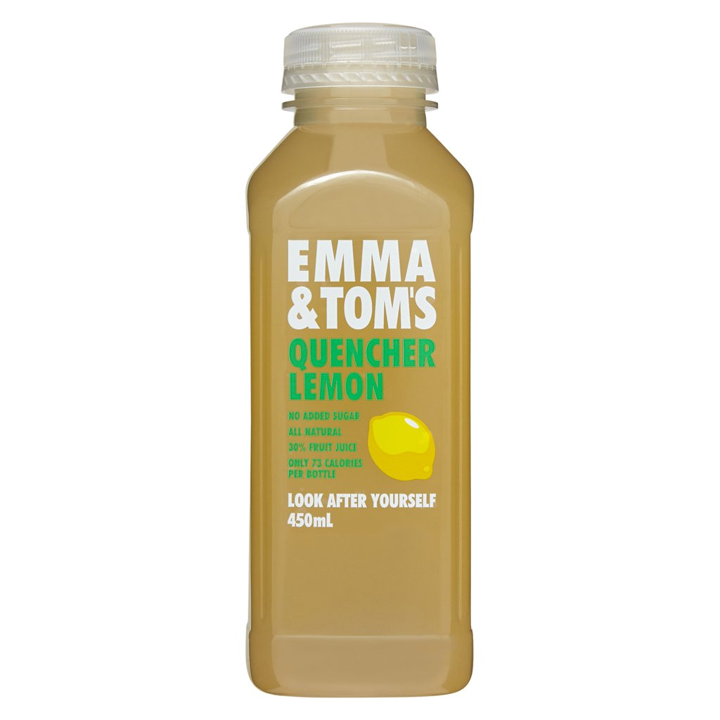 Emma & Tom's Lemon Quencher (450ml) (box of 10)