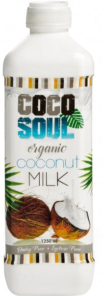15 boxes Special Deal Save $45 Cocosoul organic coconut milk (1.25L) (Box of 6)