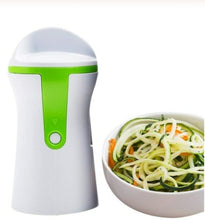 Load image into Gallery viewer, Portable Handheld Vegetable Spiralizer & Peeler