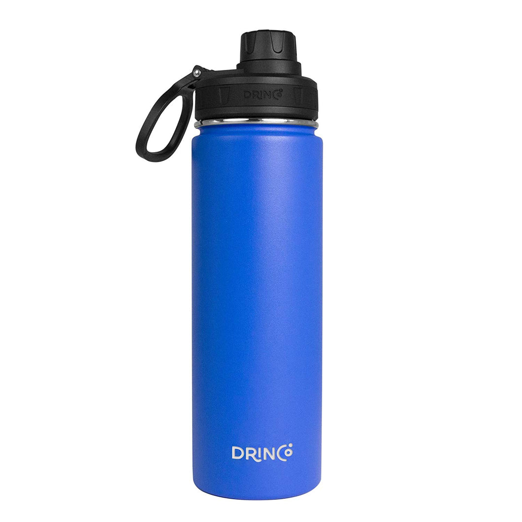 20oz Stainless Steel Sport Water Bottle - Royal Blue