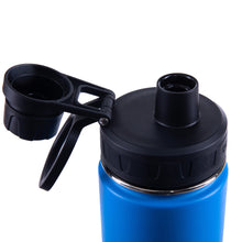 Load image into Gallery viewer, 20oz Stainless Steel Sport Water Bottle - Royal Blue