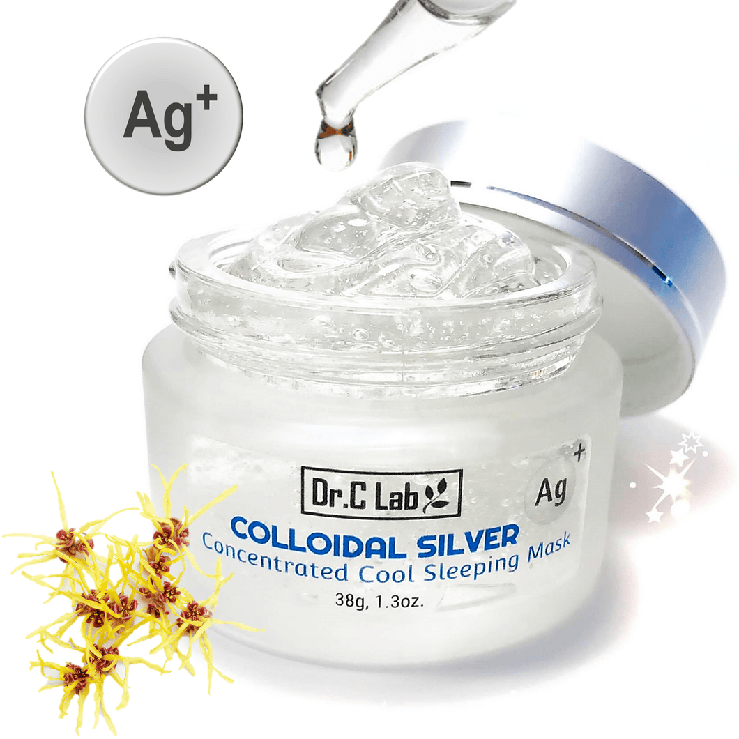 Colloidal Silver Concentrated Cool Sleeping Mask