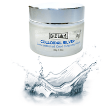 Load image into Gallery viewer, Colloidal Silver Concentrated Cool Sleeping Mask