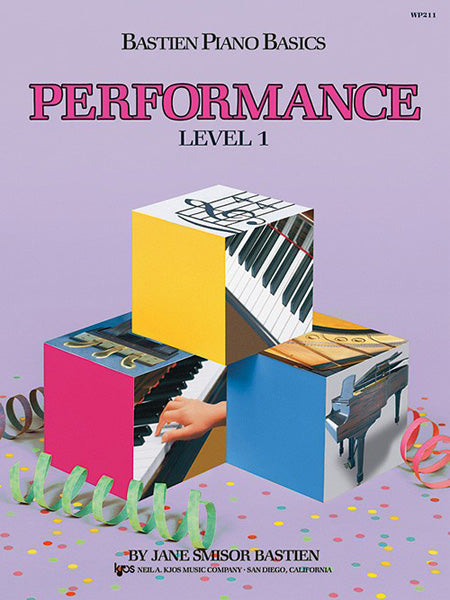 BASTIEN PIANO BASICS LEVEL 1 PERFORMANCE