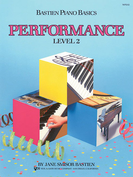 BASTIEN PIANO BASICS LEVEL 2 PERFORMANCE