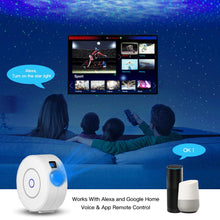 Load image into Gallery viewer, Smart Wifi Galaxy Projector, Starry Sky Projector Compatible w/ Alexa & Google Home