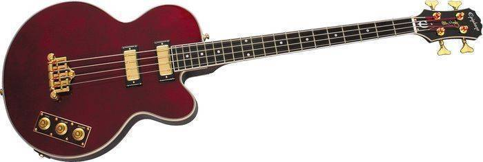 Epiphone Allen Woody Bass - Wine Red