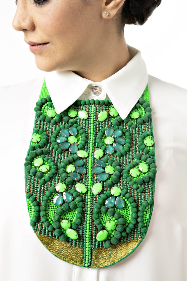 Embroidered Bib