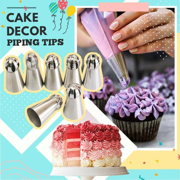 Cake Decoration Piping Tips