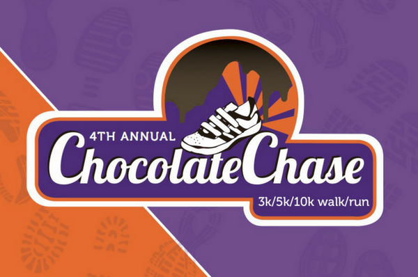 4th Annual Chocolate Chase <br> Sunday, August 27th