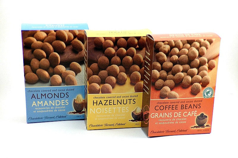 Chocolate Covered Nuts/Beans