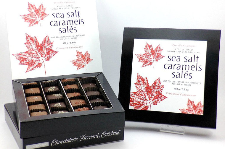 Proudly Canadian Sea Salt Caramel Collection