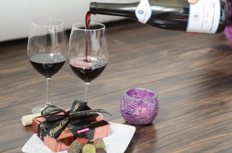 "Wine and Chocolate Tasting <br>""Perfect Pairings"""