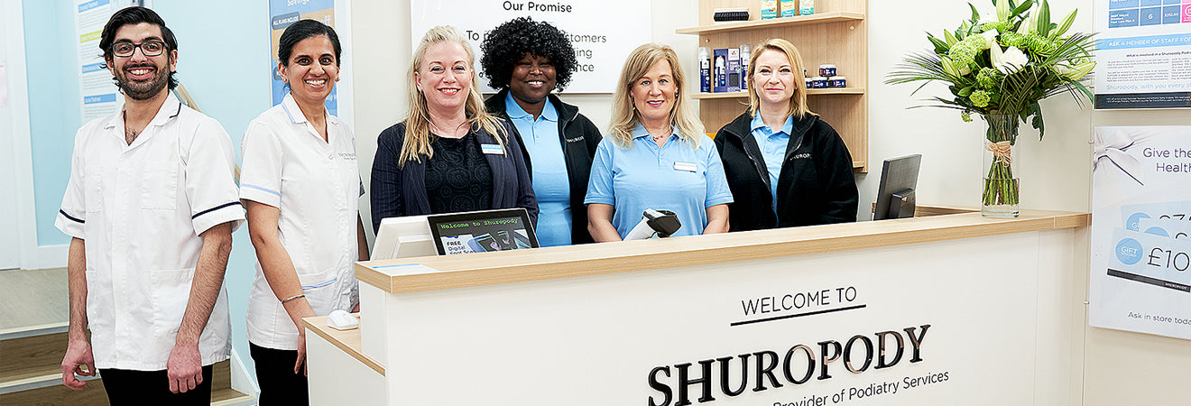 Some of the Shuropody team