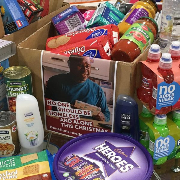 Charity collection for Coventry Crisis